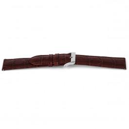 Klockarmband Universell D340 Läder Brun 14mm