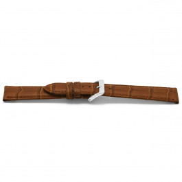 Klockarmband Universell D349 Läder Brun 14mm