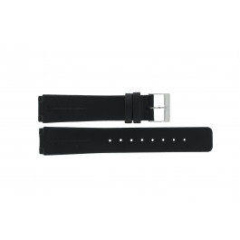 Klockarmband Skagen 433LSLB Läder Svart 20mm