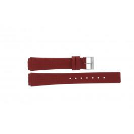Klockarmband Skagen 433SSLR / H433SSLR Läder Röd 15mm