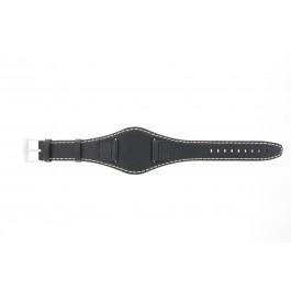 Klockarmband Camel 50970 Läder Svart 20mm
