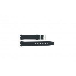 Klockarmband Swatch (alt.) 51643.06.17.C Läder Blå 17mm