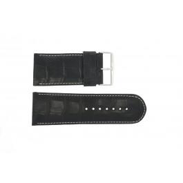 Klockarmband Universell 61324.10.34 Läder Svart 34mm