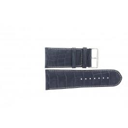 Klockarmband Universell 61324.00.36 Läder Blå 36mm