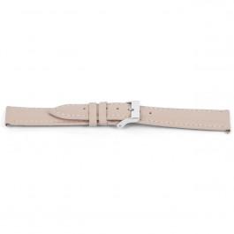 Klockarmband Universell F716 Läder Rosa 18mm