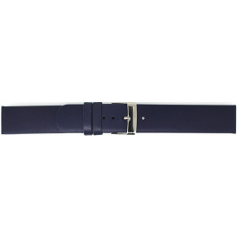 Klockarmband Universell 800R05.20 Läder Blå 20mm