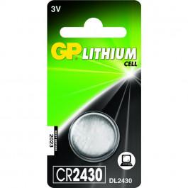 GP Knappcell Batteri CR2430 - 3v