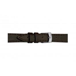 Morellato klockarmband Livorno Gen.Tejus D2116372030CR08 / PMD030LIVORT08 Ödla läder Mörk brun 8mm + default sömmar