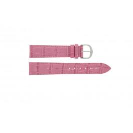 Klockarmband Davis B0203.12 Läder Rosa 12mm