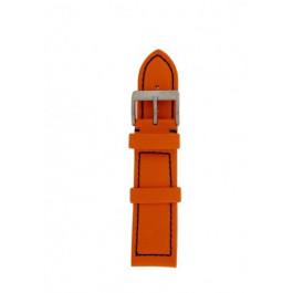 Klockarmband Davis BB1026O Läder Apelsin 22mm