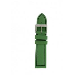 Klockarmband Davis BB1027G Läder Grön 22mm