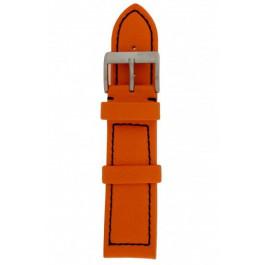 Klockarmband Davis BB1276 / BB0456.24 Läder Apelsin 24mm