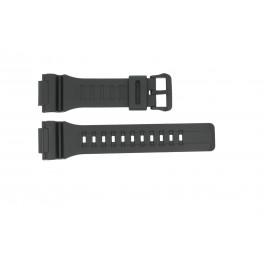 Klockarmband Casio W736H / W735H / AEQ-110 / AQ-S81 Gummi Svart 18mm