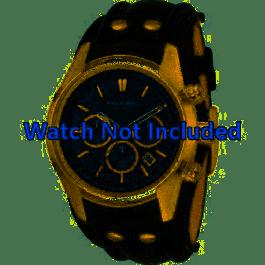 Klockarmband Fossil CH2615 Läder Svart 22mm