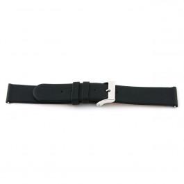 Klockarmband Universell 800R.01 Läder Svart 22mm