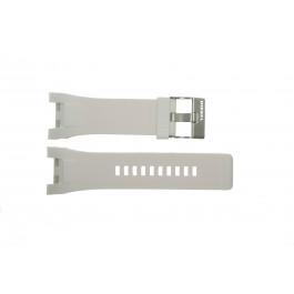 Klockarmband Diesel DZ4286 Gummi Vit 32mm