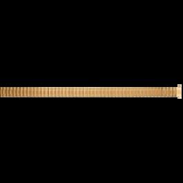Klockarmband Universell EB607 Stål Guldpläterad 8-10mm