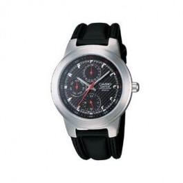 Klockarmband Casio EF-308L-1AV / RL-301L-1AV Läder Svart 16mm