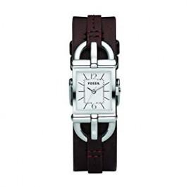 Klockarmband Fossil ES2637 Läder Brun 7mm