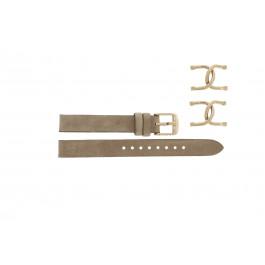 Klockarmband Fossil ES3466 Stål Beige 16mm