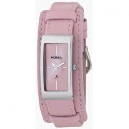 Klockarmband Fossil ES9859 Läder Rosa 14mm