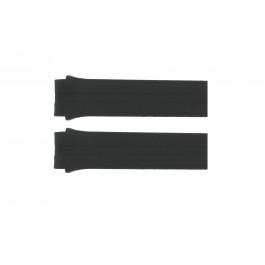Klockarmband Festina F16096.3 / F16096.4 / F16096.5 Gummi Svart 22mm