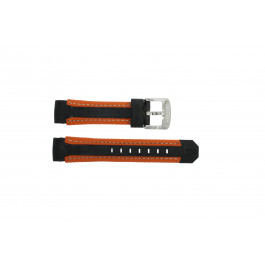 Klockarmband Festina F16274.6 Gummi Apelsin 18mm