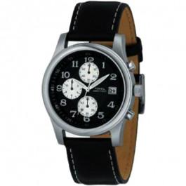 Klockarmband Fossil FS2898 Läder Svart 22mm