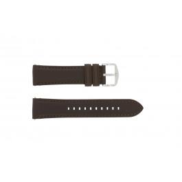 Klockarmband Fossil FS4735 / FS4813 Läder Brun 22mm