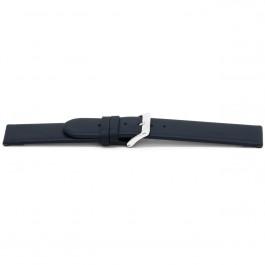 Klockarmband Universell G607 Läder Blå 20mm