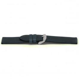 Klockarmband Universell G629 Läder Blå 20mm