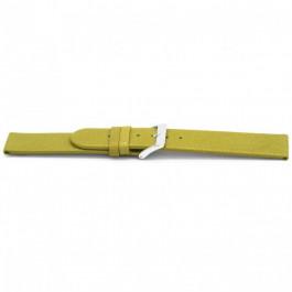 Klockarmband Universell G862 Läder Grön 20mm