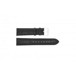 Klockarmband Universell 305R.01 / 805R.01 Läder Svart 18mm