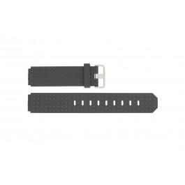 Klockarmband Jacob Jensen 400 / 420 / 421 / 422 / 423 Gummi Svart 12mm