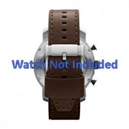 Klockarmband Fossil JR1390 Läder Brun 24mm