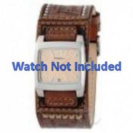Fossil klockarmband JR-8829 Läder Brun 18mm