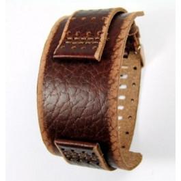 Klockarmband Fossil JR9040 Läder Brun 22mm