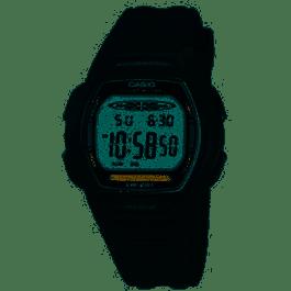 Klockarmband Casio LW-201 Plast Svart 15mm