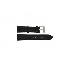 Klockarmband Fossil ME3104 / ME3101 Läder Svart 22mm