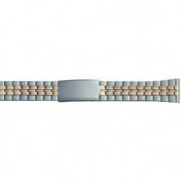 Klockarmband Universell DD100 Stål Bi-färg 20mm