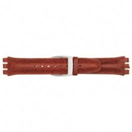Klockarmband Swatch (alt.) 247.07M Läder Brun 19mm