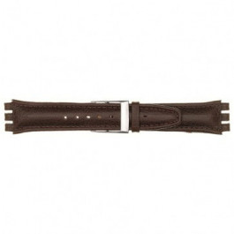 Klockarmband Swatch (alt.) 247.06PL Läder Röd 17mm