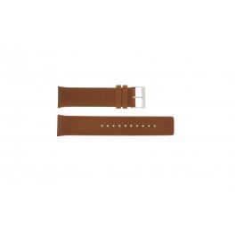 Klockarmband Skagen SKW6086 Läder Konjak 22mm