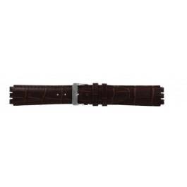 Klockarmband Swatch (alt.) 21414.27 Läder Brun 17mm