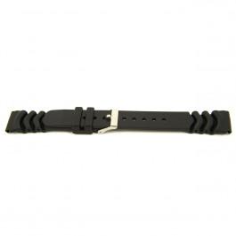 Klockarmband Universell XG11 Gummi Svart 20mm