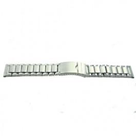 Klockarmband YI24 Metall Ilverfärgad 24mm