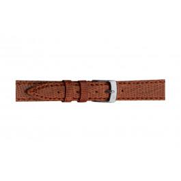 Morellato klockarmband Violino Gen.Lizard X2053372041CR08 / PMX041VIOLIN08 Ödla läder Brun 8mm + default sömmar