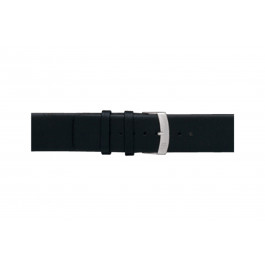 Morellato klockarmband Large X3076875019CR28 / PMX019LARGE28 Mjukt läder Svart 28mm