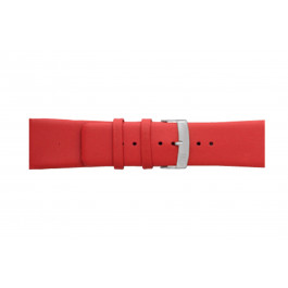 Morellato klockarmband Large X3076875083CR30 / PMX083LARGE30 Mjukt läder Röd 30mm