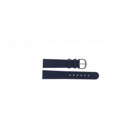 Klockarmband Danish Design ADDBE18 Läder Blå 18mm